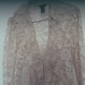 Brand new womans lace blouse size 8